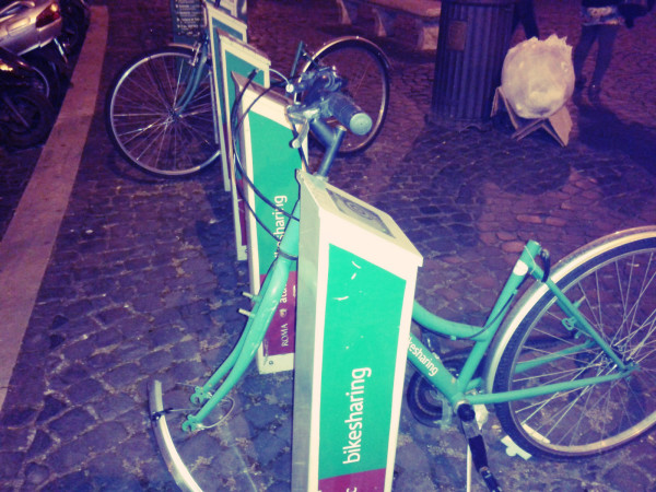 bike sharing via arenula