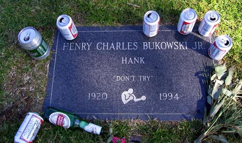 Bukowski tomba