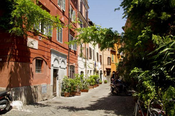 Vicolo del Leopardo, Trastevere, Roma, Lazio, Italia
