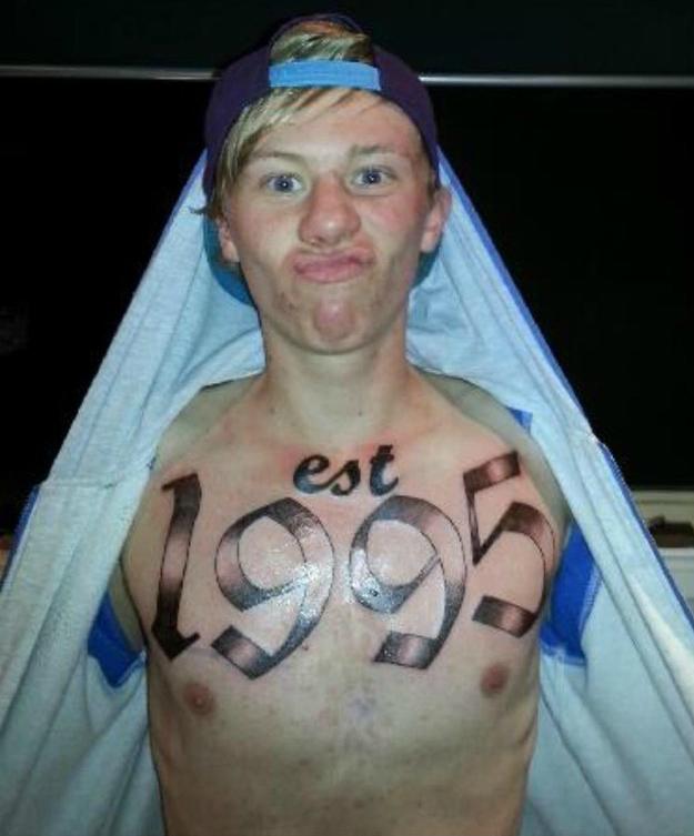 est 1995 tatoo
