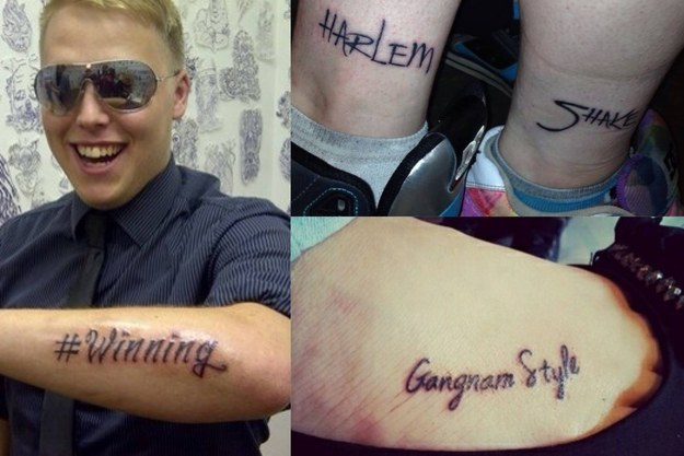 tatuaggio gnam gnam style psy