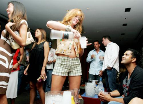 tavolo discoteca