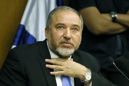 ISRAEL-POLITICS-LIEBERMAN-GAZA