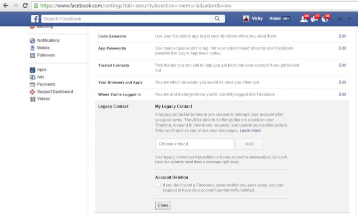 legacy contact facebook1