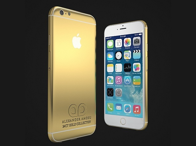 amosu gold iphone 6