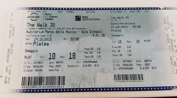 biglietti festival cinema