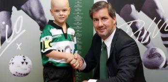 Francisco, il bambino malato ingaggiato dallo Sporting Lisbona