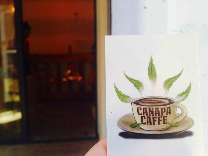 Apre a Roma il primo Canapa Caffe' d'Italia