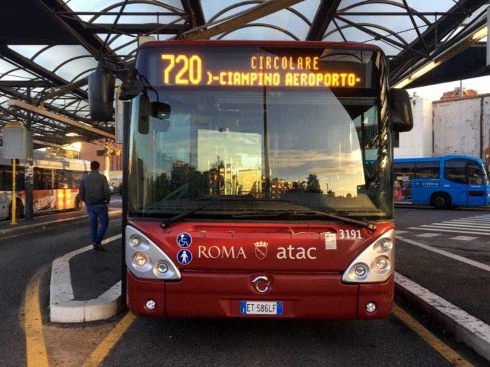 Arriva il bus dell'Atac per Ciampino
