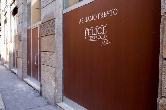 Felice a Testaccio apre a Milano
