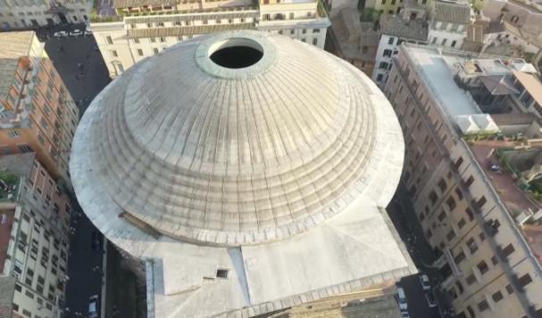 Il Pantheon come non l'avete mai visto (VIDEO)