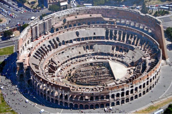 Il Colosseo il monumento piu' visitato d'Italia nel 2017