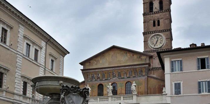 Finito il restauro di Santa Maria in Trastevere