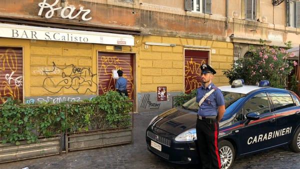 Chiuso il Bar San Calisto per disturbo alla quiete pubblica