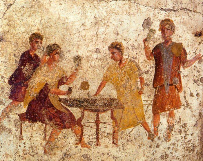 Il gioco d'azzardo nell'Antica Roma