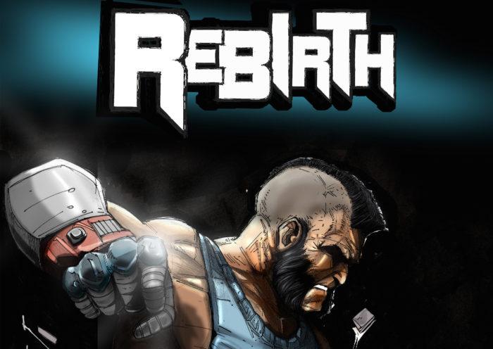 Arriva Rebirth, il fumetto romano che racconta di un reality sulla guerra