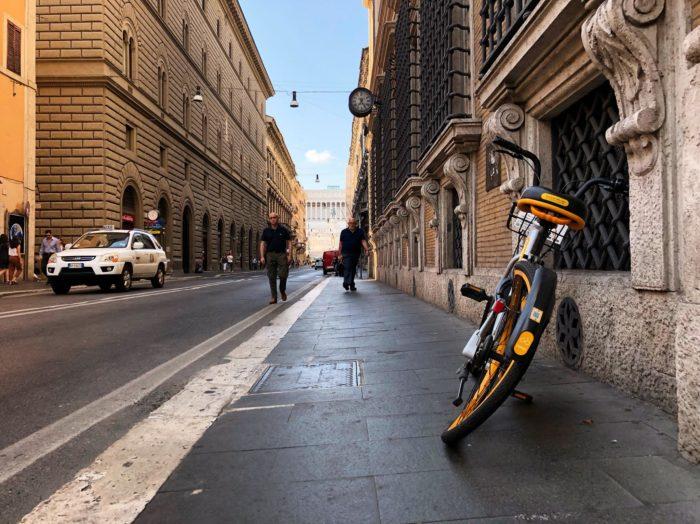 Addio oBike, Roma diventa l'unica metropoli europea senza bike sharing