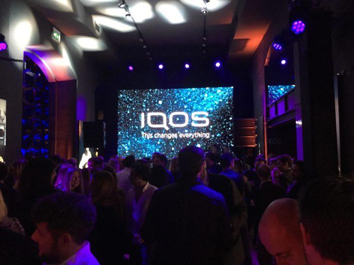 La nostra serata al lancio di IQOS 3