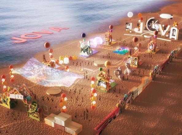 Jovanotti in concerto sulla spiaggia di Ladispoli