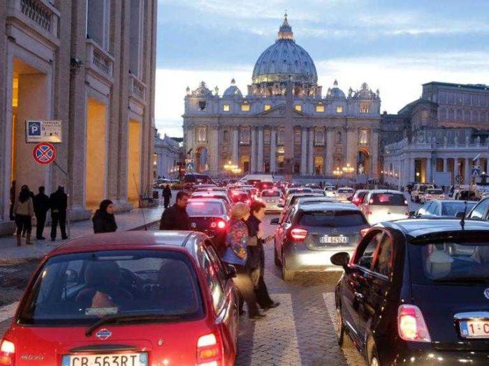 Roma seconda al mondo per ore passate nel traffico