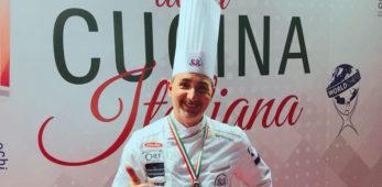 """Il team romano di chef al """"Campionato della Cucina Italiana 2019"""" con lo sponsor Gruppo Galli"""